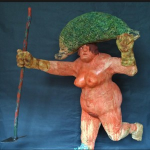 04 Escultura mariscador